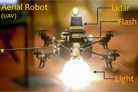 Beleuchter-Drohne: ist technisch perfekt ausgerüstet (Foto: cornell.edu)
