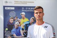 """Daniel Altmaier Bild: """"obs/DTB - Deutscher Tennis Bund e.V./Claudio Gärtner"""""""