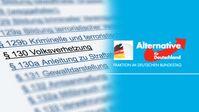 AfD-Bundestagsfraktion möchte § 130 StGB reformieren, nicht abschaffen