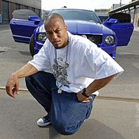 Portrait des Rappers Deso Dogg vom Juni 2005 in Berlin