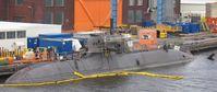 U-Boot der Klasse 212 A am Ausrüstungskai
