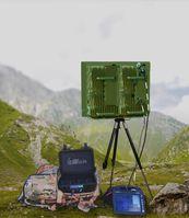 Abbildung des neuen mobilen Radarsystems  Bild: ELTA Systems Ltd. Fotograf: PIZ Ausrüstung, Informationstechnik und Nutzung
