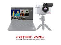 Infrarot-Wärmebildtechnik von FOTRIC mit KI-Gesichtserkennung