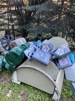 Illegale Müllablagerungen Bild: Polizei