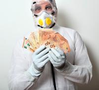 Corona-Geld: mickrige Spenden von Tech-Riesen.