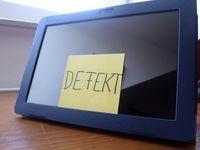 Defekter Computer (Symbolbild)