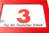 3. Oktober, Tag der deutschen Einheit