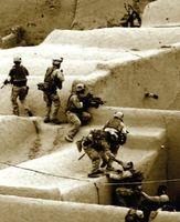 MARSOC-Truppen bei einer Gebirgsübung