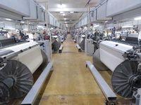 Textilproduktion: Produktionshalle der Lauffenmühle 2019