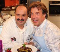 Patrick Lindner mit Johann Lafer 2010