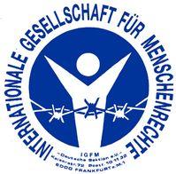 Internationale Gesellschaft für Menschenrechte (IGFM) Logo