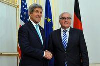 Steinmeier mit John Kerry im Juli 2014