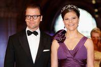 """Kronprinzessin Victoria und Prinz Daniel 2013 zu Besuch am niederländischen Hof Bild: """"obs/ZDF/wireimage/Michel Porro"""""""