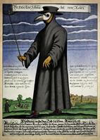 Seuchenärzte im Mittelalter gingen mit der Inquisition Hand in Hand. Gibt es Parallelen zur heutigen Situation? (Symbolbild)
