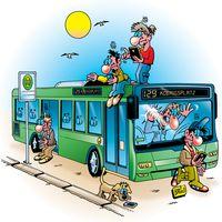 Linienbus /ÖPNV (Symbolbild)