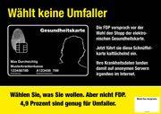 Ärzte rufen auf, in NRW nicht FDP zu wählen