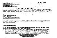 Offener Brief an Willy Brandt