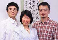 Bild (v.l.n.r.): Zhonghao Yu, Dr. Rui Wang-Sattler, Tao Xu, Helmholtz Zentrum München Quelle:  (idw)