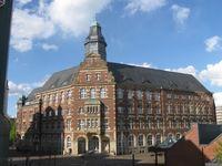 Das Gebäude des Verwaltungsgerichts Gelsenkirchen (ehemalige Hauptpost)
