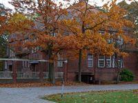 Das Haus 52 der Asklepios Fachklinikum Brandenburg mit Maßregelvollzug