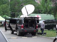 Übertragungswagen von CCTV (Symbolbild)