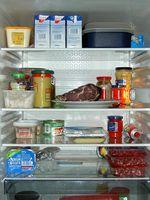 Blick in den Nutzraum eines Kühlschranks