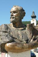 Klimt-Denkmal in Unterach am Attersee