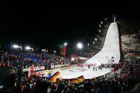 Die Mühlenkopfschanze, ist die größte Großschanze der Welt. Bild: ExtremNews / Karl Koch