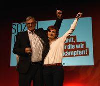 Bernd Riexinger und Katja Kipping (2017)