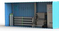 """CAD-Modell des Energiespeicher-Prototypen von Hypnetic /  Bild: """"obs/hannoverimpuls GmbH/Hypnetic"""""""