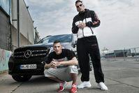 Gzuz (links) und Bonez MC (rechts), die Hauptakteure der 187 Strassenbande (2016), Archivbild