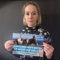 """Bild: """"obs/PETA Deutschland e.V./PETA Deutschland e. V."""""""