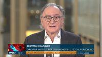 """Professor Bertram Häussler (2021) Bild: """"obs/WELT/© WeltN24 GmbH"""""""