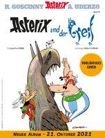 Vorläufiges Cover des Asterix-Albums Nr. 39 Bild: Egmont Ehapa Media GmbH Fotograf: © 2021 LES EDITIONS ALBERT RENE
