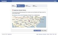 Facebook: oft wird beliebiger Standort angezeigt. Bild: flickr.com/swanksalot