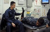 Physiotherapie: virtuelle Alternative vorgestellt. Bild: flickr.com/US Navy