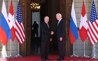 Wladimir Putin und Joe Biden (2021)