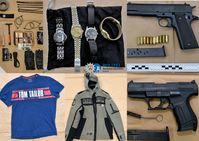 Sichergestellte Gegenstände Bild: Polizei