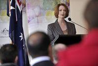 Julia Gillard: im Wahlkampf ist dicke Haut gefragt. Bild: flickr/Kate Lundy