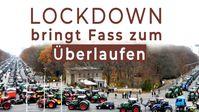 """Bild: Screenshot Video: """" Lockdown bringt Fass zum Überlaufen"""" (https://www.kla.tv/18026) / Eigenes Werk"""
