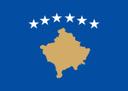Flagge der Republik Kosovo