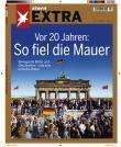 Extra-Heft des Hamburger Magazins stern zum 20. Jahrestag des Mauerfalls