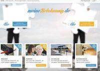 """Screenshot von der Webseite """"meine-belohnung.de"""""""
