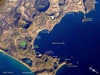 Phlegräische Felder (Aufnahme von der ISS)