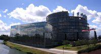 Das Europäische Parlament, Standort Straßburg.
