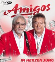 """Cover """"Im Herzen jung"""" von den Amigos"""