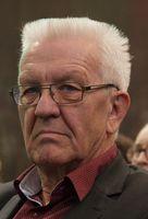 Winfried Kretschmann (2017): Ex-Mitglied des Kommunistischen Bundes Westdeutschlands und geläuterte Maoist.