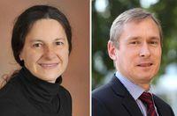 Dr. Elke Edelmann und Prof. Dr. Volkmar Leßmann Quelle: Foto: privat/Viktoria Kühne (idw)