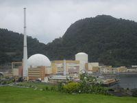 Kernkraftwerk Angra: Block 2 (links) und Block 1 (rechts)
