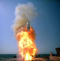 Start einer Tactical Tomahawk von der USS Stethem